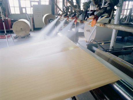 non-slip paper - production